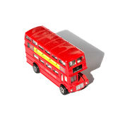 Miniature double decker. Scale model of the famous london double decker Royalty Free Stock Photography