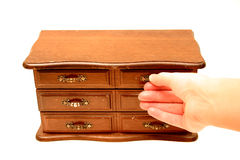 Miniature Dresser 4 Stock Photography
