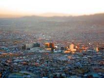 Miniature El Paso. Miniature photo of downtown El Paso Royalty Free Stock Photo