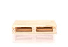 Free Miniature Euro Pallet Stock Photography - 48203312