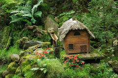 Miniature Fairy Tale Cabin Royalty Free Stock Photography