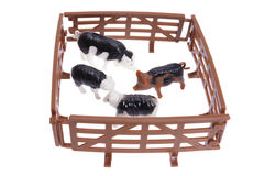 Miniature Farm Animals Royalty Free Stock Images