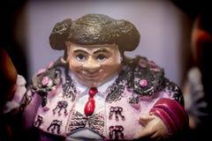 Miniature Figure Toreador Spanish Stock Images