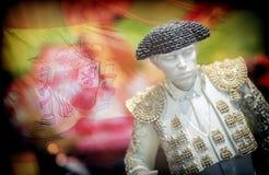 Miniature Figure Toreador Spanish Royalty Free Stock Photography