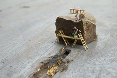 Conceptual miniature royalty free stock image