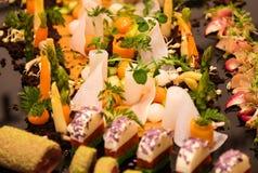Miniature food Stock Photos