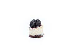 Miniature forest fruit desserts. Delicious miniature forest fruit desserts Stock Photo