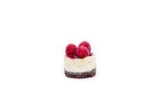 Miniature forest fruit desserts. Delicious miniature forest fruit desserts Royalty Free Stock Images