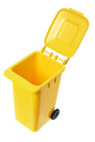 Miniature Garbage Bin Royalty Free Stock Images