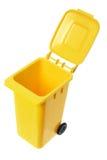 Miniature Garbage Bin Royalty Free Stock Images