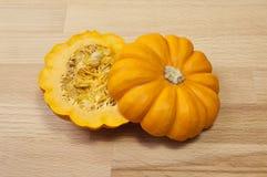 Miniature Gold Pumpkin Royalty Free Stock Photos