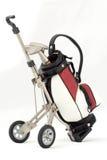Miniature golf bag Stock Photos