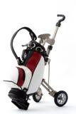 Miniature golf bag Stock Photo