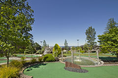 Miniature Golf Course Royalty Free Stock Images