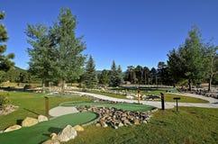 Miniature golf course at the Colorado YMCA Stock Photo
