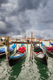 Miniature gondolas Stock Photography