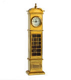 Miniature grandfather clock Stock Photography