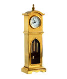 Miniature grandfather clock Stock Image