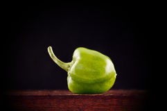 Miniature green pepper Stock Images