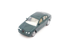 Miniature green toy car Royalty Free Stock Photos