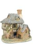 Miniature house isolated Royalty Free Stock Photos