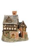 Miniature house isolated Stock Photo