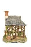 Miniature house isolated Stock Photos