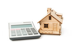 Home loan calculator Royalty Free Stock Photo