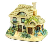 Miniature House Ornament Stock Photo