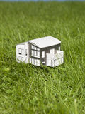 A miniature house outside Royalty Free Stock Image