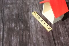 Miniature house probate concept