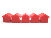 Miniature houses Royalty Free Stock Photo