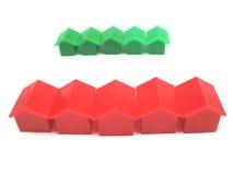 Miniature houses Royalty Free Stock Photos