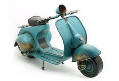 Miniature italienne de scooter Photo stock