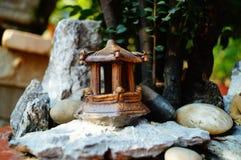 Miniature landscape sculpture Stock Image