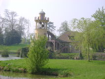 Miniature lighthouse at the Petit Trianon, Versail Stock Photography