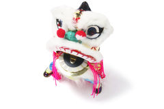 Miniature Lion Dancing Ornament Stock Photo