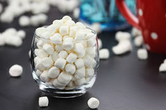 Miniature Marshmallows Stock Image