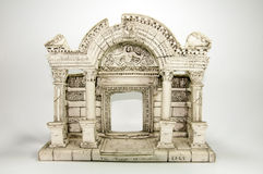 Miniature Model of Ancient Greece Stock Images