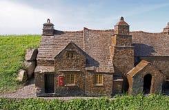 Miniature model buildings Royalty Free Stock Image