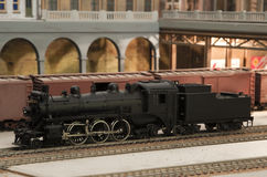 Miniature model of great northern Stock Photo