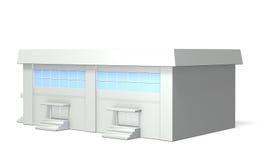 Miniature model of  gymnasium Royalty Free Stock Photography