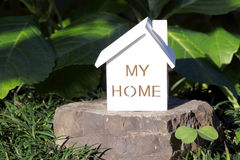 Miniature model of house Stock Photos
