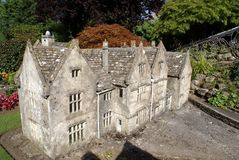 Miniature model of a house Royalty Free Stock Photos