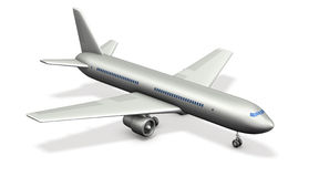 Miniature model of the jet. Stock Images