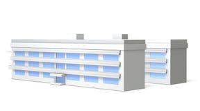 Miniature model of school Stock Image