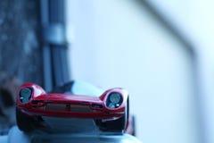 Miniature model toy car scene. stock image