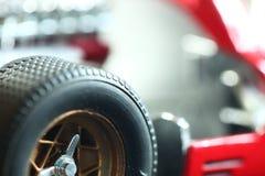 Miniature model toy car scene. royalty free stock image