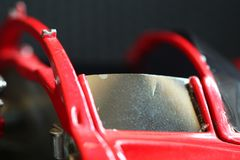 Miniature model toy car scene. royalty free stock photo