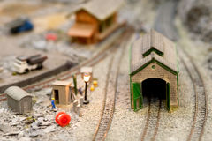 Miniature models Stock Images